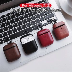 Leather Apple AirPod case